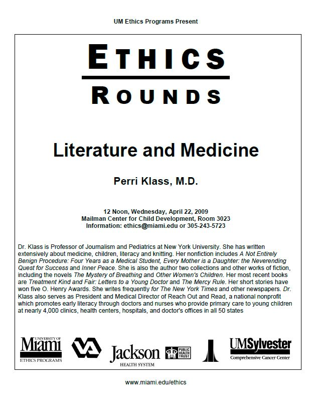 Ethics Rounds: Literature and Medicine